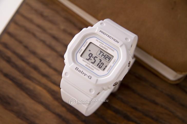 Đồng hồ Baby-G BGD-560-7DR Màu trắng trang nhã và nữ tính - Ảnh 1
