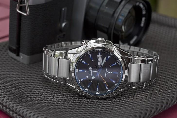Đồng hồ Casio MTP E200D-1A2VDF trẻ trung, năng động và dày dặn - Ảnh 1