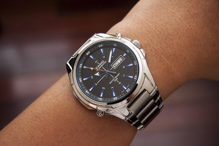 Đồng hồ Casio MTP E200D-1A2VDF trẻ trung, năng động và dày dặn - Ảnh 2