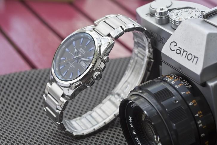 Đồng hồ Casio MTP E200D-1A2VDF trẻ trung, năng động và dày dặn - Ảnh 5