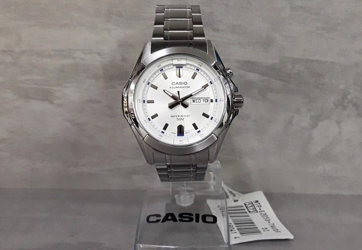 Đồng hồ Casio MTP-E205D-7AVDF giá rẻ, thay pin miễn phí - Ảnh 1