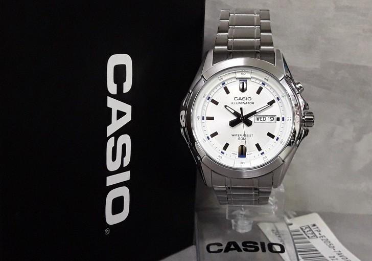 Đồng hồ Casio MTP-E205D-7AVDF giá rẻ, thay pin miễn phí - Ảnh 3