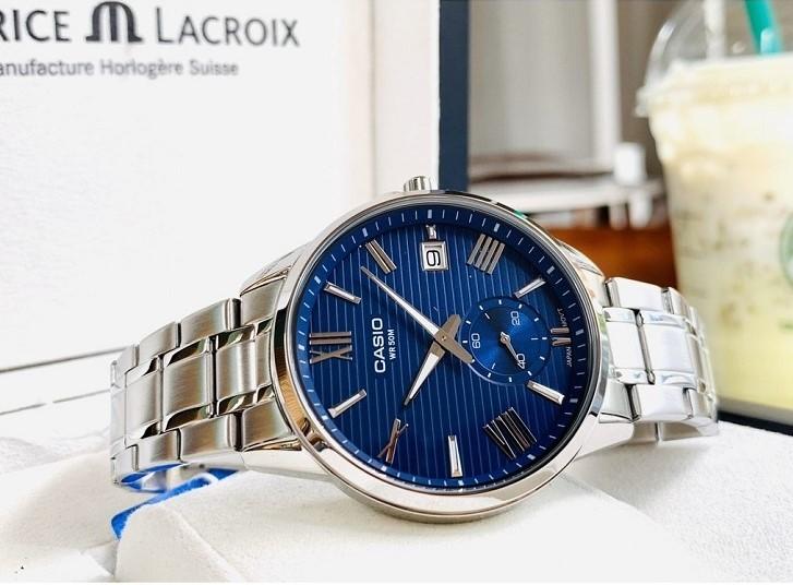 Casio MTP-EX100D-2AVDF đồng hồ thời trang tích hợp nhiều tính năng - Ảnh 1