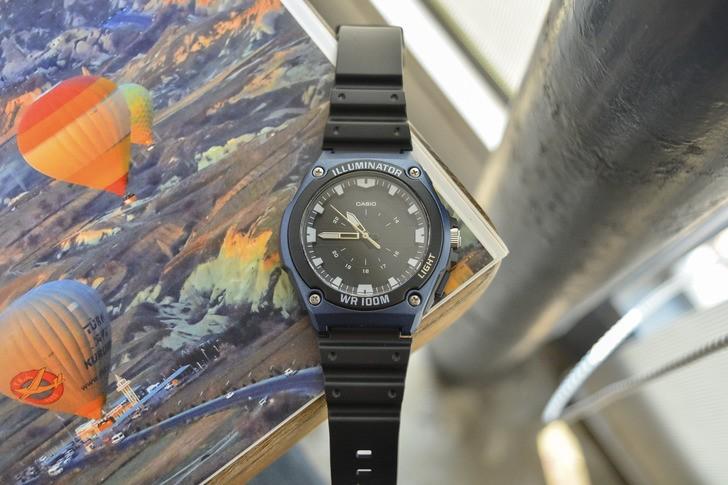 Đồng hồ Casio MWC-100H-2AVDF giá rẻ, thay pin miễn phí - Ảnh 3
