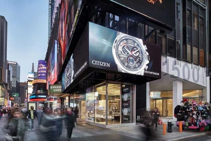 Đồng hồ nam Citizen AW1370-51B bộ máy năng lượng ánh sáng - Ảnh 1