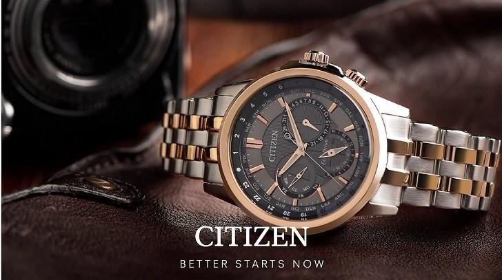 Đồng hồ nam Citizen AW1370-51B bộ máy năng lượng ánh sáng - Ảnh 2