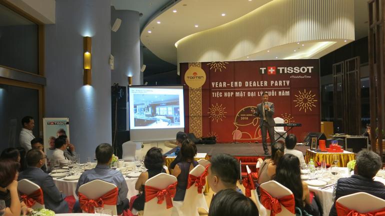 Đồng Hồ Hải Triều Nhận Giải Top 1 Đại Lý Đồng Hồ Tissot 2018 - Tiệc họp mặt đại lý cuối năm