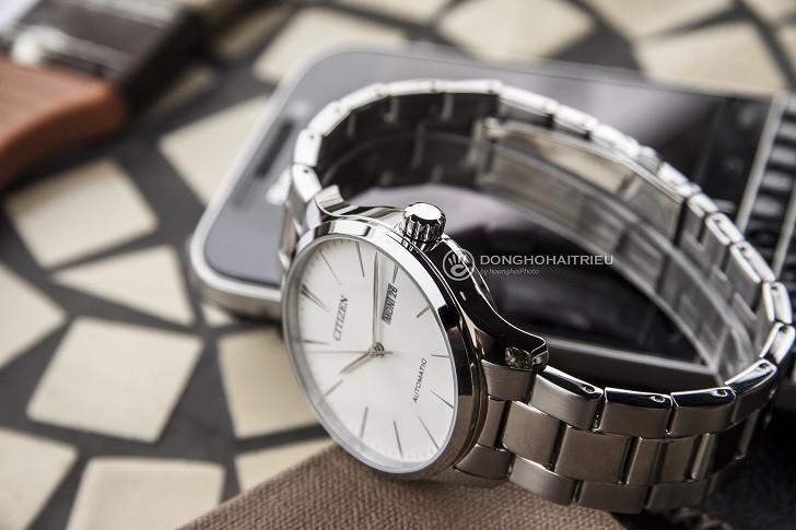 Khám phá đồng hồ Citizen NH8350-83A máy cơ, trữ cót 40 giờ - Ảnh 1