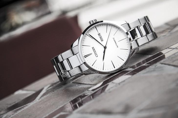 Khám phá đồng hồ Citizen NH8350-83A máy cơ, trữ cót 40 giờ - Ảnh 3