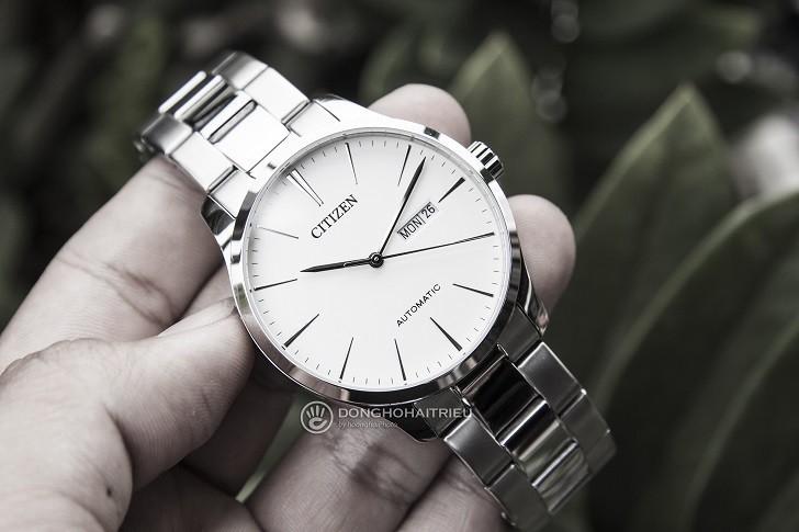 Khám phá đồng hồ Citizen NH8350-83A máy cơ, trữ cót 40 giờ - Ảnh 4