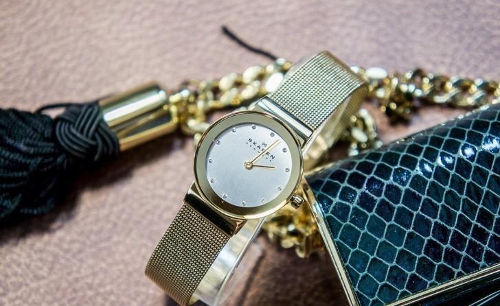 Khám phá đồng hồ Skagen 358SGGD có đính pha lê Swarovski - Ảnh 2