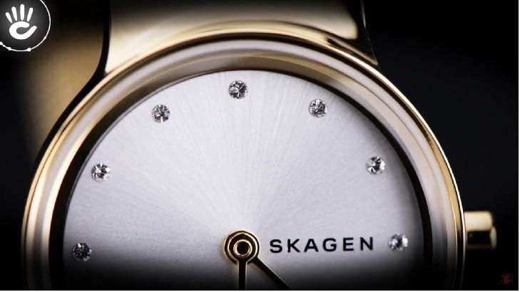 Khám phá đồng hồ Skagen 358SGGD có đính pha lê Swarovski - Ảnh 1