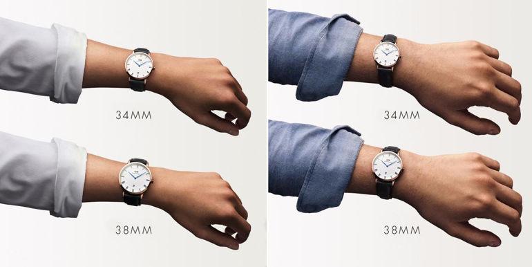 Review khám phá đồng hồ Daniel Wellington (DW) Dapper kim xanh nổi tiếng size DW Dapper