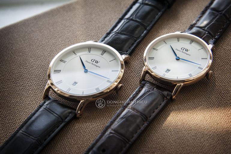 Review khám phá đồng hồ Daniel Wellington (DW) Dapper kim xanh nổi tiếng DW00100093 DW00100107