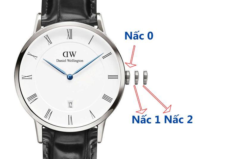 Toàn tập cách chỉnh giờ đồng hồ DW (Daniel Wellington) trong 30 giây - đồng hồ Daniel Wellington có lịch DW00100108