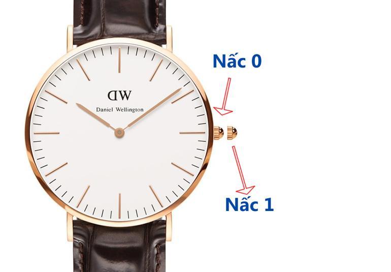 Toàn tập cách chỉnh giờ đồng hồ DW (Daniel Wellington) trong 30 giây - đồng hồ Daniel Wellington không lịch DW00100011