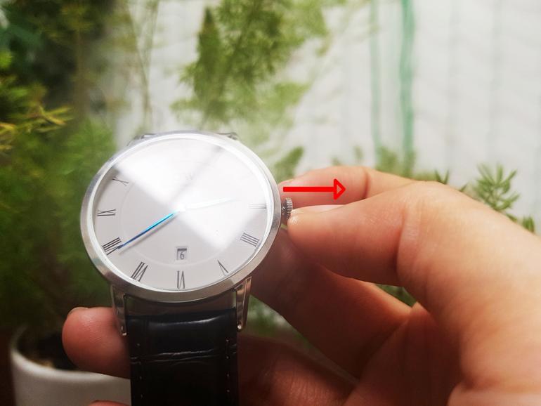 Toàn tập cách chỉnh giờ đồng hồ DW (Daniel Wellington) trong 30 giây - rút núm
