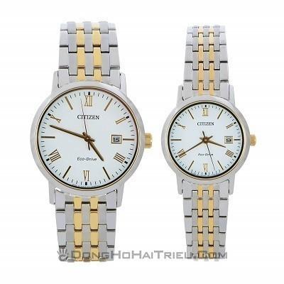 TOP thương hiệu đồng hồ cặp mạ vàng: Casio, DW, Tissot, Citizen,... - Ảnh 6