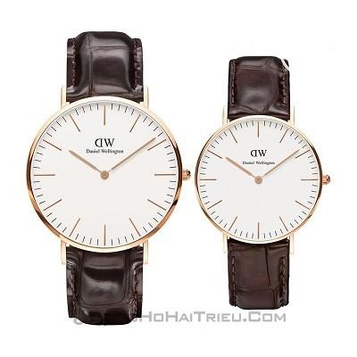 TOP thương hiệu đồng hồ cặp mạ vàng: Casio, DW, Tissot, Citizen,... - Ảnh 5