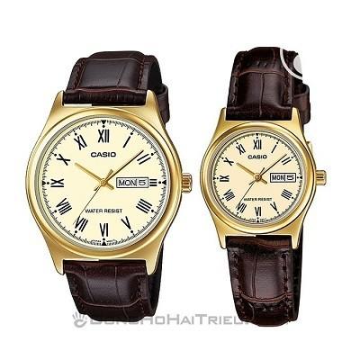 TOP thương hiệu đồng hồ cặp mạ vàng: Casio, DW, Tissot, Citizen,... - Ảnh 4