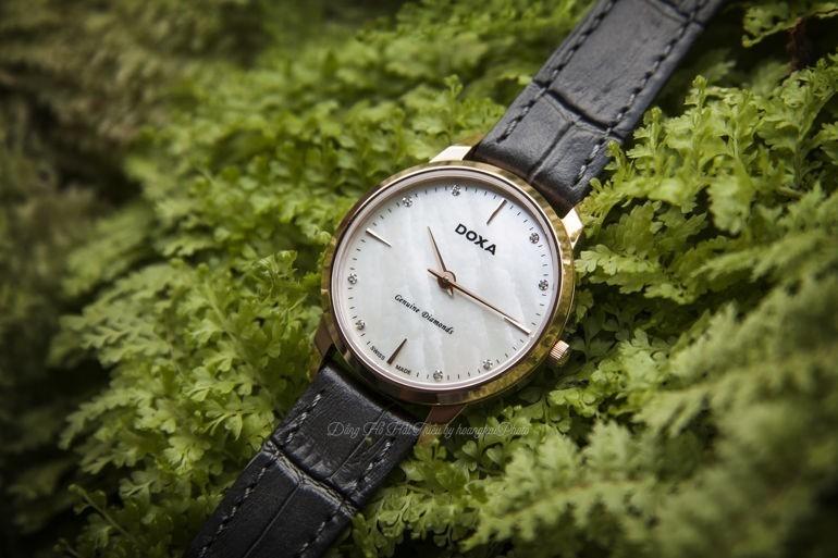 3 Bí mật chưa kể về đồng hồ đính kim cương Longines và Doxa Executive Slim D158RWH