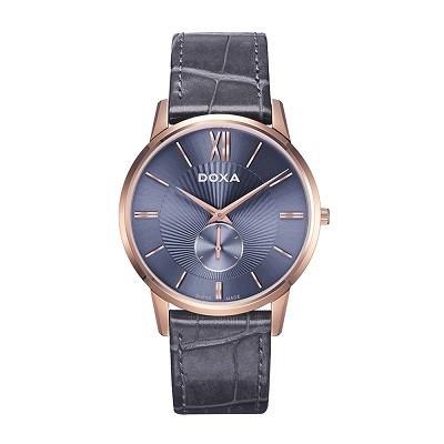5 chiếc đồng hồ nam siêu mỏng, cao cấp đến từ thương hiệu Doxa - Ảnh: Doxa D155RBL