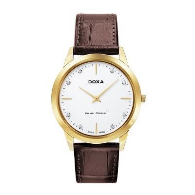 5 chiếc đồng hồ nam siêu mỏng, cao cấp đến từ thương hiệu Doxa - Ảnh: Doxa D157KWH