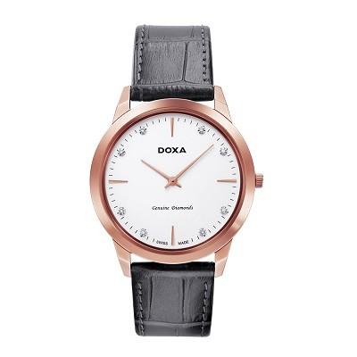 5 chiếc đồng hồ nam siêu mỏng, cao cấp đến từ thương hiệu Doxa - Ảnh: Doxa D157RWH