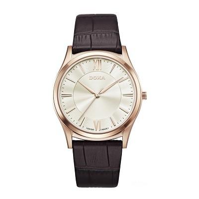 5 chiếc đồng hồ nam siêu mỏng, cao cấp đến từ thương hiệu Doxa - Ảnh: Doxa D201RIY