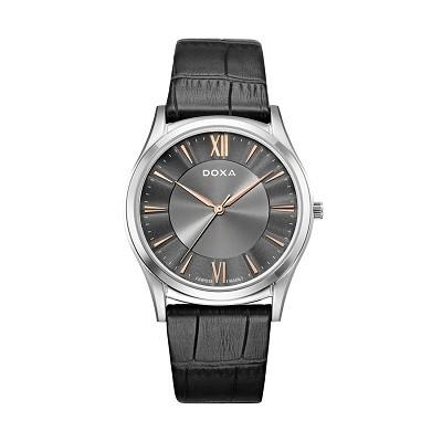 5 chiếc đồng hồ nam siêu mỏng, cao cấp đến từ thương hiệu Doxa - Ảnh: Doxa D201SGY