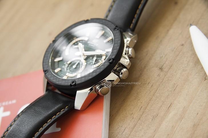 Đồng hồ Casio EQS-910L-1AVUDF bộ máy năng lượng ánh sáng - Ảnh 2