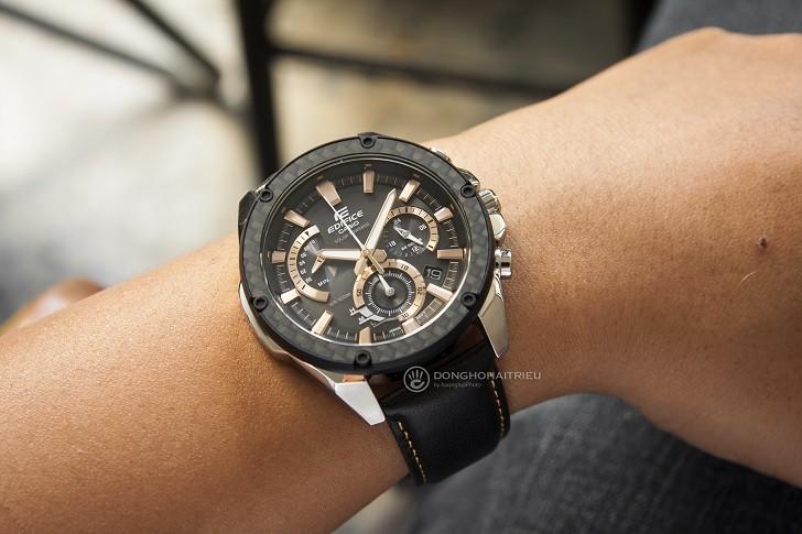 Đồng hồ Casio EQS-910L-1AVUDF bộ máy năng lượng ánh sáng - Ảnh 5