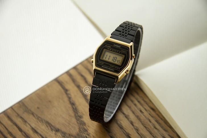 Đồng hồ nữ Casio LA690WGB-1DF giá rẻ, thay pin miễn phí - Ảnh 1