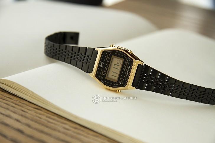 Đồng hồ nữ Casio LA690WGB-1DF giá rẻ, thay pin miễn phí - Ảnh 3