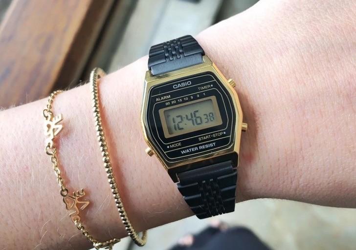 Đồng hồ nữ Casio LA690WGB-1DF giá rẻ, thay pin miễn phí - Ảnh 7