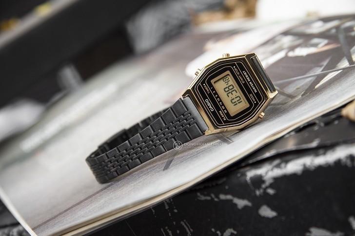 Đồng hồ nữ Casio LA690WGB-1DF giá rẻ, thay pin miễn phí - Ảnh 4