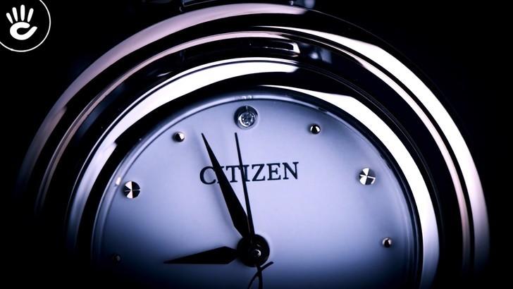 Đồng hồ nữ Citizen EM0668-83A bộ máy năng lượng ánh sáng - Ảnh 3