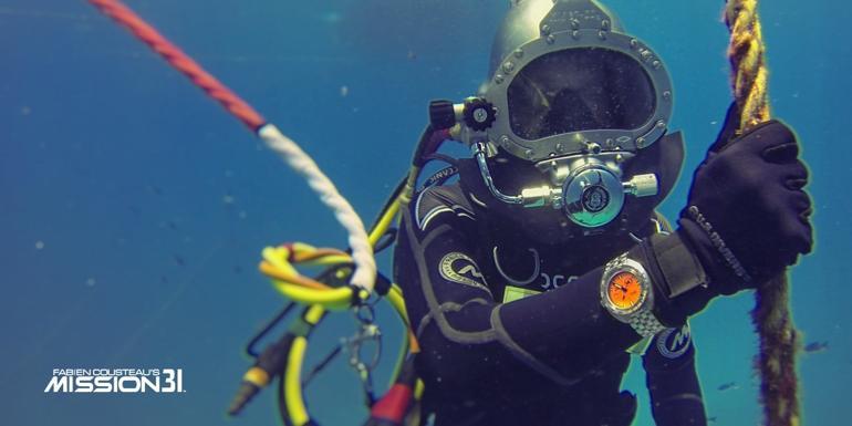 Đồng hồ hiệu Doxa có gì đặc biệt? Tiết lộ 7 điều bạn chưa biết! - MISSION31 Fabien Cousteau