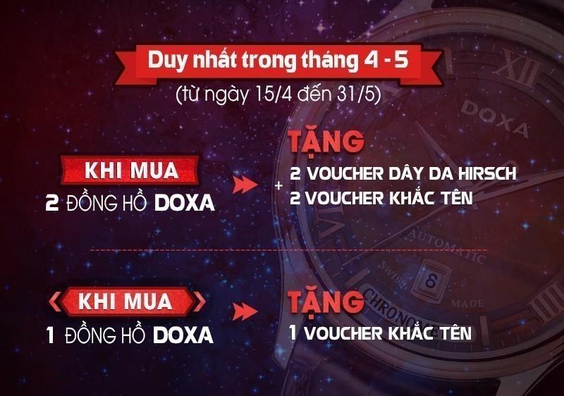 Quà tặng HOT: Sự kiện 130 năm thành lập thương hiệu đồng hồ Doxa - Ảnh 2