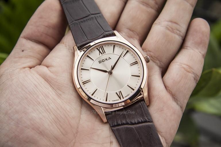 Quà tặng HOT: Sự kiện 130 năm thành lập thương hiệu đồng hồ Doxa - Ảnh Doxa D201RIY