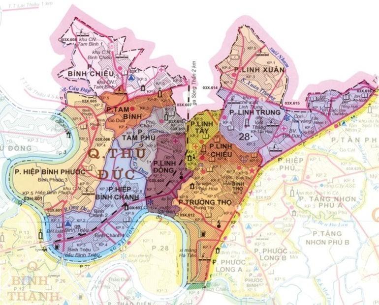 Bất ngờ đột nhập Đồng Hồ Hải Triều Thủ Đức trước ngày khai trương - bản đồ Thủ Đức