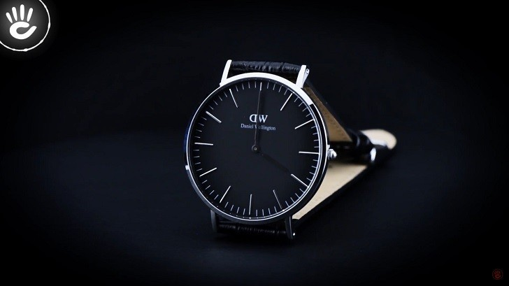 Review đồng hồ Daniel Wellington DW00100135 dây da thật - Ảnh 2