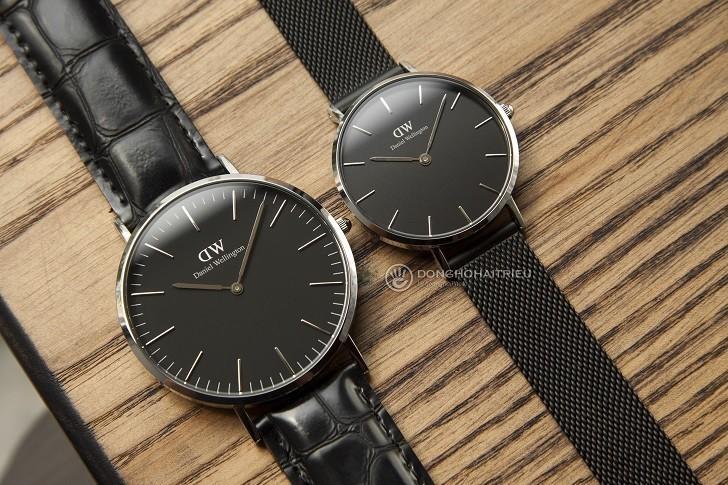 Review đồng hồ Daniel Wellington DW00100135 dây da thật - Ảnh 3