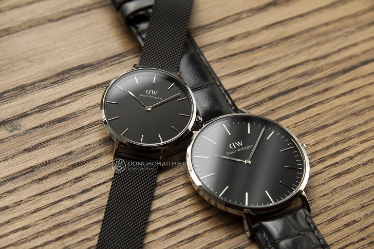 Review đồng hồ Daniel Wellington DW00100135 dây da thật - Ảnh 4
