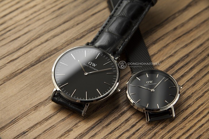 Review đồng hồ Daniel Wellington DW00100135 dây da thật - Ảnh 5