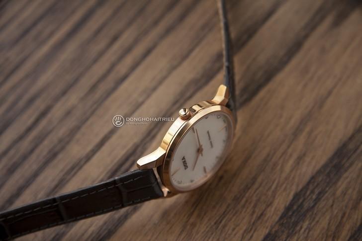 Review đồng hồ Doxa D158RWH được đính 8 viên kim cương - Ảnh 3