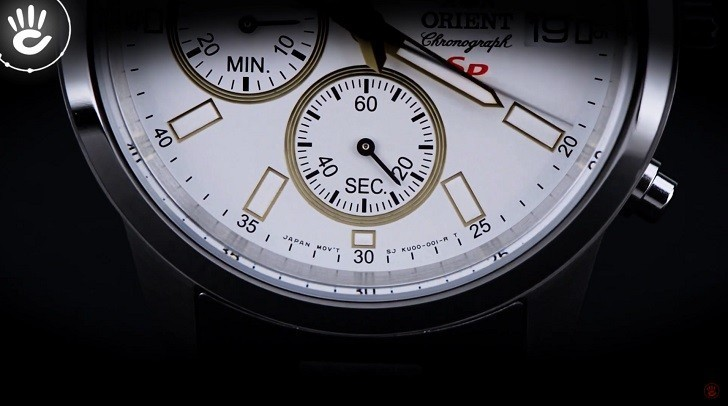 Review Đồng Hồ Orient FKU00001W0 Kèm Tính Năng Chronograph - Ảnh 1