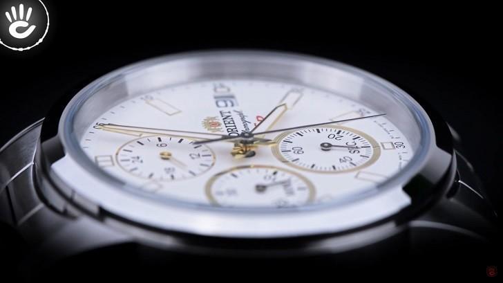 Review Đồng Hồ Orient FKU00001W0 Kèm Tính Năng Chronograph - Ảnh 5
