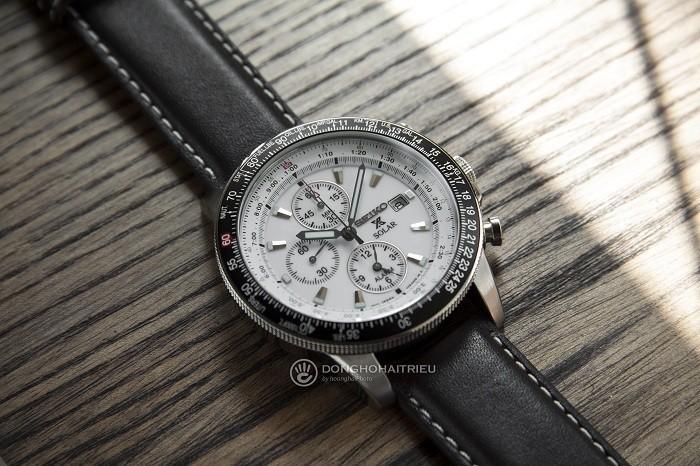 Đồng hồ Seiko Flightmaster Solar Chronograph SSC013P1 - 8