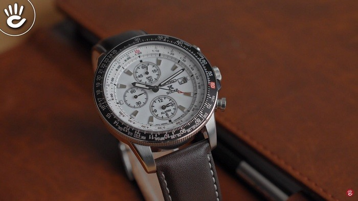 Đồng hồ Seiko Flightmaster Solar Chronograph SSC013P1 - 2